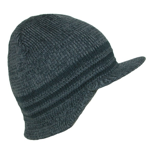 eb4a2e0e9eb Shop Grand Sierra Men s Marled Knit Visor Beanie - Free Shipping On ...