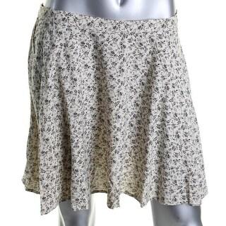 Denim & Supply Ralph Lauren Womens A-Line Skirt Jersey Printed