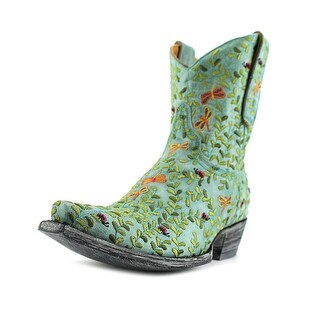 """Old Gringo Dragon Fly 8"""" Pointed Toe Leather Western Boot"""