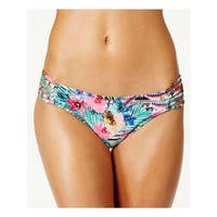Raisins Womens Juniors Cocoa Beach Floral Print Hipster Swim Bottom Separates