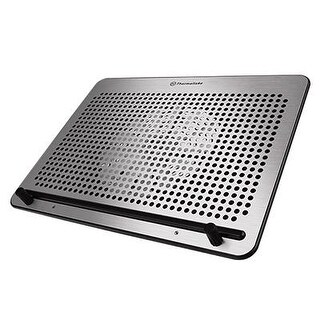 Thermaltake Massive A21 10-17 Notebook Laptop Cooling Pad With Aluminum Panel, Single 200Mm Fan, Cl-N011-Pl20bl-A