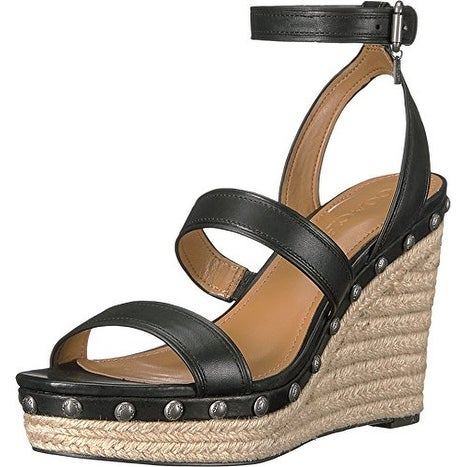 Coach Womens Darcy Open Toe Casual Platform Sandals