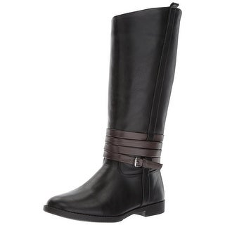 Kenneth Cole Reaction Girls Kennedy Hunt Knee High Zipper Riding Boots