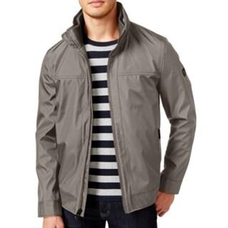 Calvin Klein NEW Beige Mens Size 3XL Water-Resistant Windbreaker Jacket