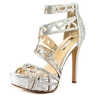 INC International Concepts Melzie Open Toe Synthetic Platform Sandal