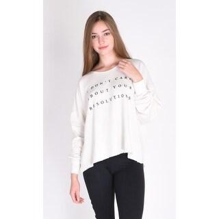Wildfox No Resolution 5Am Sweatshirt