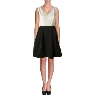 Jessica Simpson Womens Cut Out Lined Wear to Work Dress