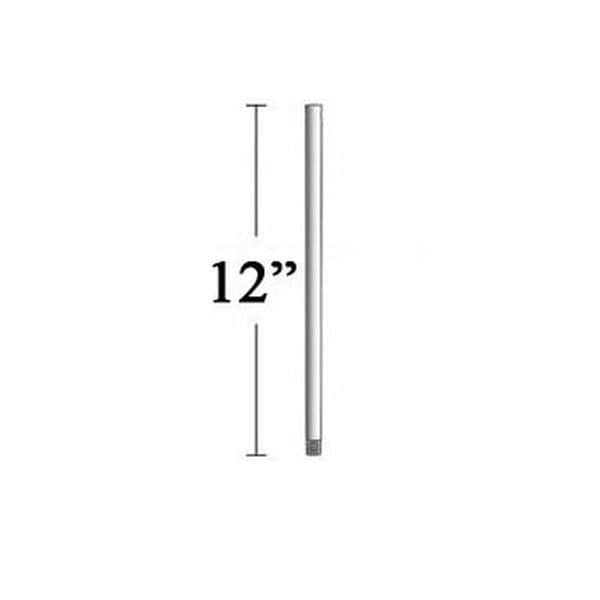 """MinkaAire DR1512 12"""" Additional Downrod for F738 Pancake Indoor Ceiling Fan - n/a"""