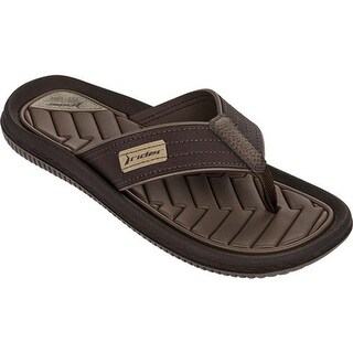 Rider Men's Dunas XIII Thong Sandal Brown/Brown