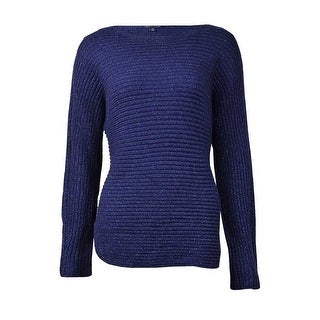 Tommy Hilfiger Women's Pullover Knitted Sweater (S, Peacoat) - peacoat - s