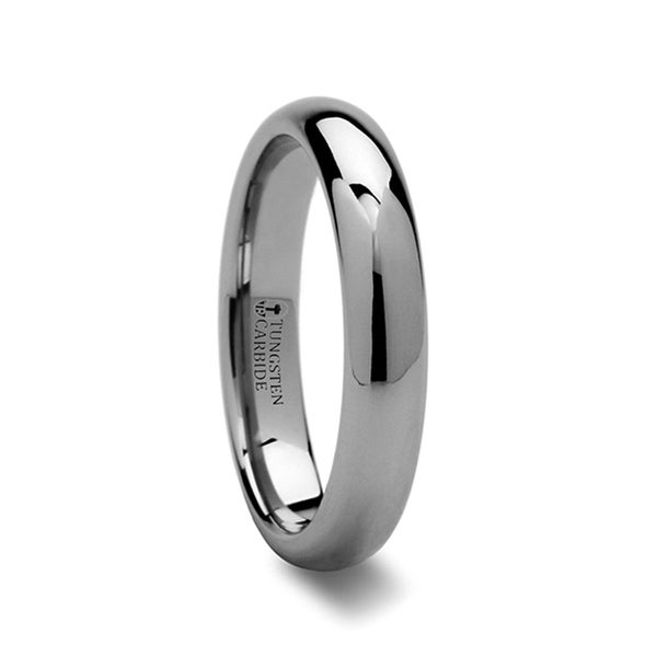THORSTEN - DOMINUS Domed Tungsten Carbide Ring - 4mm