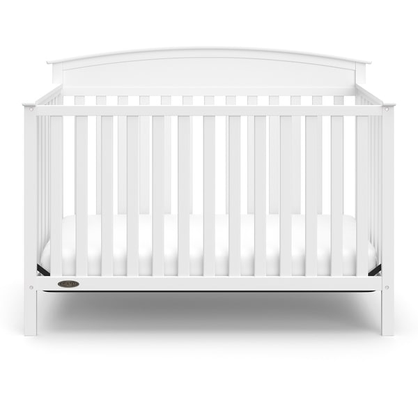 Graco Benton 4-in-1 Convertible Crib ? Easily Converts to Toddler Bed, Daybed or Full-Size. Opens flyout.