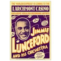''Jimmie Lunceford: Larchmont Casino, 1938'' by Anon Concert Posters Art Print (24 x 17 in.)