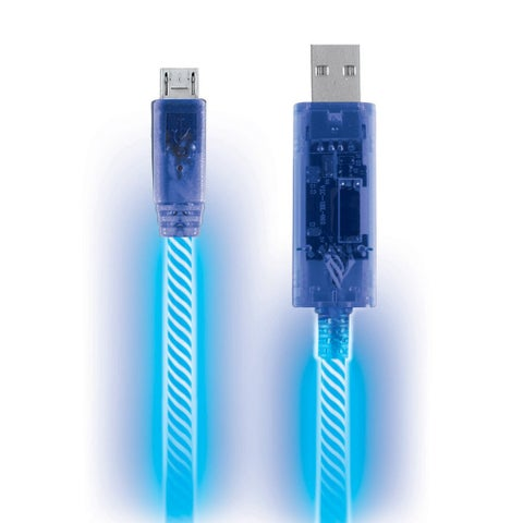 Pilot Automotive Electroluminescent Light Up Micro USB Charging Sync/ Data Cable