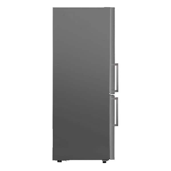Real Stainless Bottom Large Freezer E-Star Refrigerator with Wine Rack 11.5 cu.ft