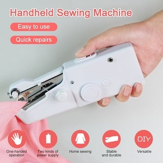 Link to Mini Portable Handheld Sewing Machine Electric Sewing Machine Stitch Set Similar Items in Sewing & Quilting