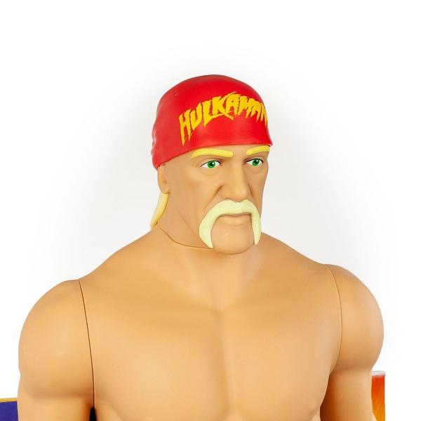 WWE Hulk Hogan Action Figure | Giant Sized Wrestler Great for Kids ...
