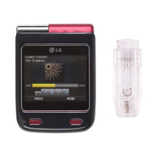 Snap-On Case for LG Lotus Elite LX610 Mystique UN610 (Black)