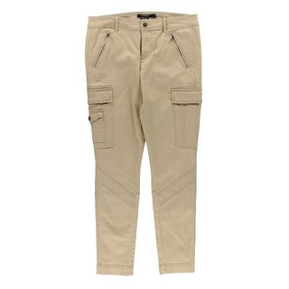 Lauren Ralph Lauren Womens Cargo Pants Denim Ankle
