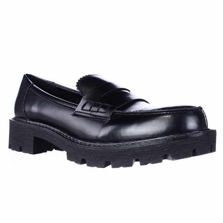 Dolce by mojo moxy Sockhop Lug Sole Oxford Flats, Black