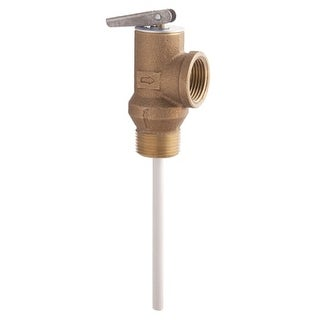 "Watts 556000 LF100XL 3/4"" Lead Free Temperature and Pressure Relief Valve"