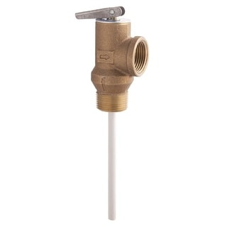 "Watts 66100 100XL 3/4"" Temperature and Pressure Relief Valve"
