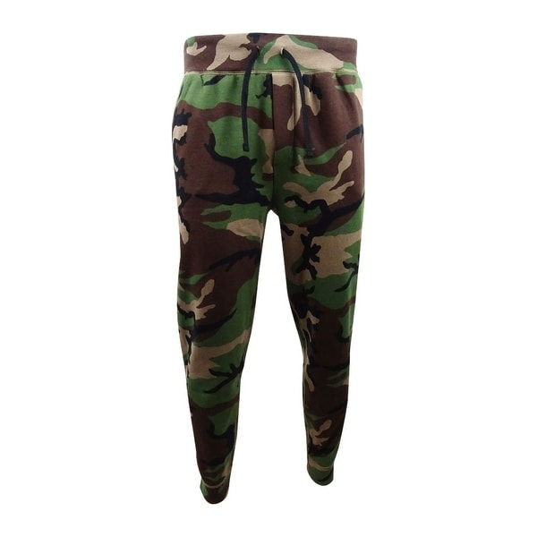 b7c260cc4f299 Shop Polo Ralph Lauren Men's Camo Fleece Jogger Pants - Surplus Camo - L -  Free Shipping Today - Overstock - 27665189