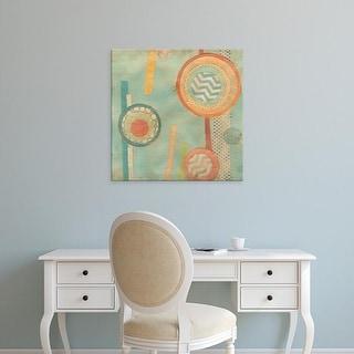 Easy Art Prints June Erica Vess's 'Bits & Pieces III' Premium Canvas Art