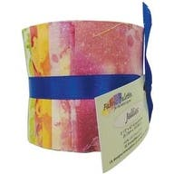 "Long Road Batik - Fabric Palette Jellies 2.5""X42"" 20/Pkg"
