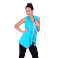 Simply Ravishing Women's Basic Sleeveless Open Cardigan (Size: Small-5X) - Thumbnail 13