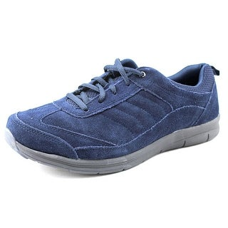 Easy Spirit e360 South Coast Women N/S Round Toe Suede Blue Sneakers