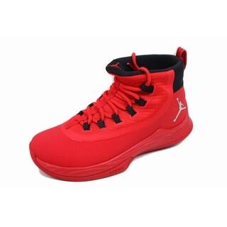 Nike Men's Air Jordan Ultra Fly 2 TB University Red/Metallic Silver 921211-606