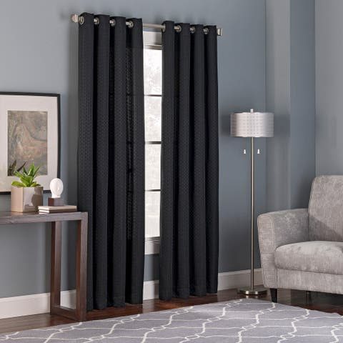 Brielle Home Bianca Curtain Panel