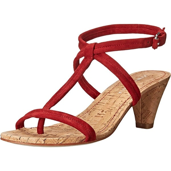Donald J Pliner Womens VISTA-KS Leather Open Toe Casual