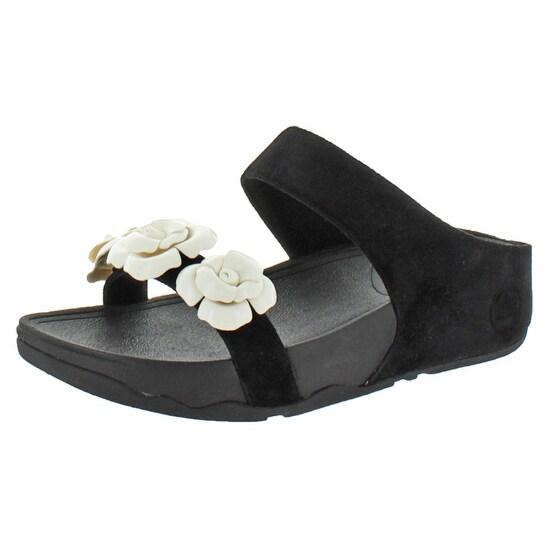 FitFlop Women's Bloom Casual Dress Sandal Slide Flip Flops