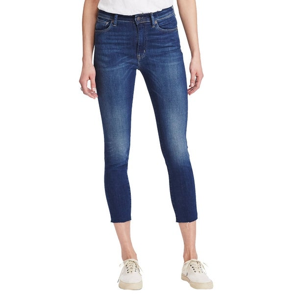 d5ccb61ed01dd Shop Denim Supply Ralph Lauren Hendrix High Rise Skinny Jeans Belmont Med  Blue - Free Shipping On Orders Over  45 - Overstock - 22087790