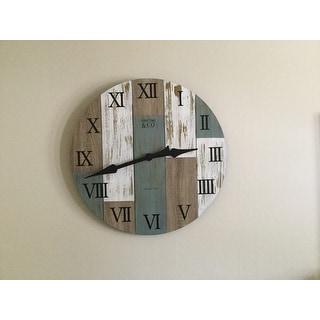 FirsTime® Timberworks Wall Clock