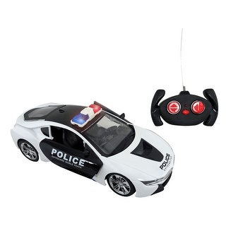 Envo Toys Remote Control R/C Car With Automatic Opening Doors LED Lights