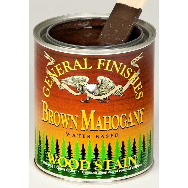 General Finishes GF-WS-Q 1 Quart Interior Water Base Wood Stain