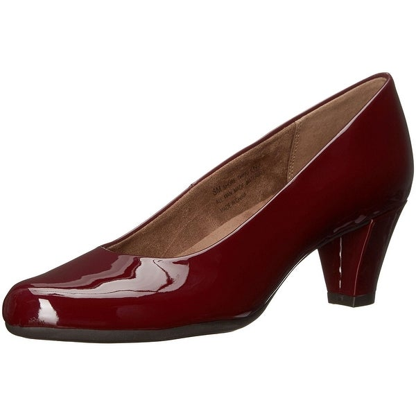 Aerosoles Womens Shore Thing Leather Closed Toe Classic Pumps