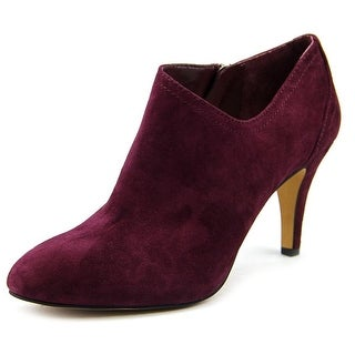 Vince Camuto Vo-Vala Women Pointed Toe Suede Purple Bootie