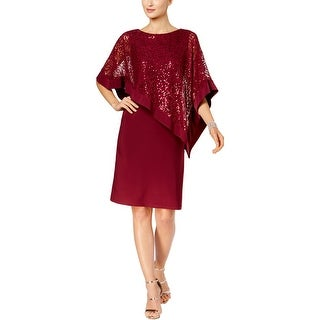 R&M Richards Womens Special Occasion Dress Sequined Lace