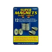 "The Magnet Source Neodymium Magnet ADisc 1/4"" 12pc"