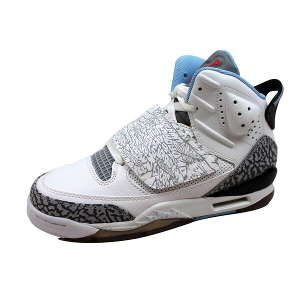 sports shoes 36221 69240 Nike Grade-School Air Jordan Son Of Mars White Prism Blue-Wolf Grey