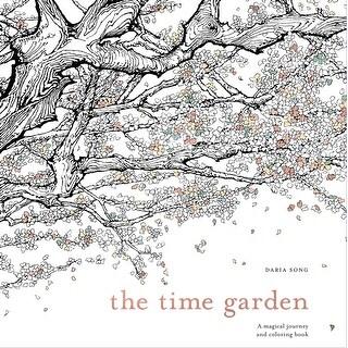 Watson-Guptill Books-The Time Garden Coloring Book
