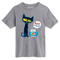 Pete The Cat Pete The Goldfish  - Youth Short Sleeve Tee