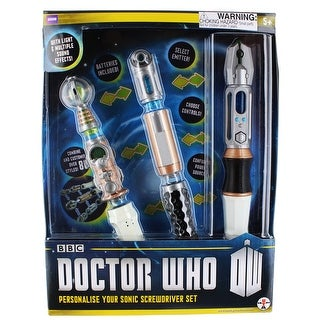 Doctor Who Personalize Your Sonic Screwdriver Set - multi