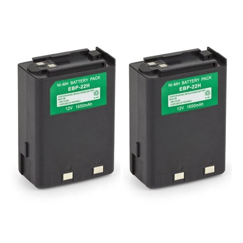 Battery for Alinco EBP22 (2-Pack) Replacement Battery