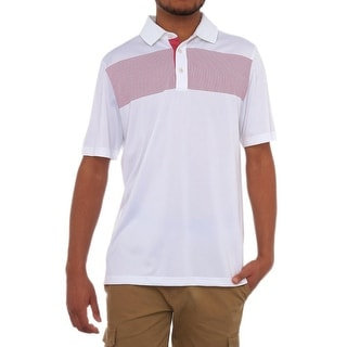 Ashworth Short Sleeve Polo Shirt Men Regular Polo Shirt
