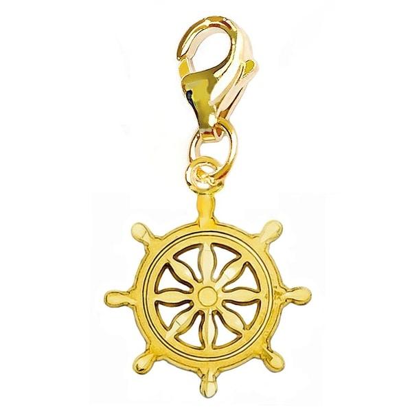 Julieta Jewelry Wheel Clip-On Charm